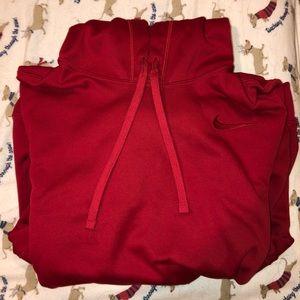 Red Nike sweatshirt, DRY FIT